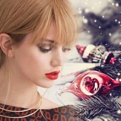 kerstvrouw